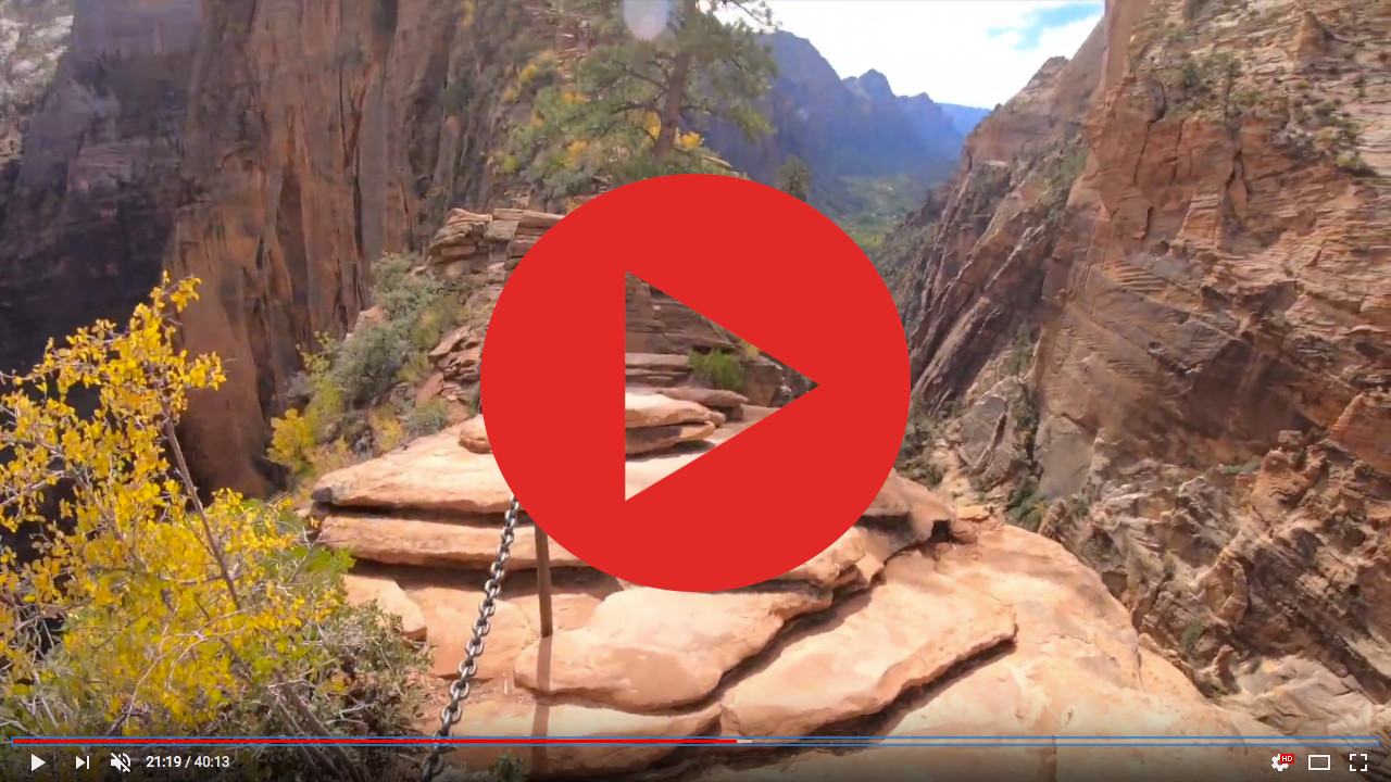 angels landing youtube